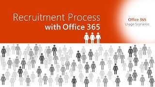 Use office 365 to simplify the recruitment process. word templates, teams channels, power bi, and more... efficient, fast smart usage ideas.