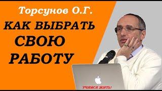 Торсунов О.Г. Как выбрать свою РАБОТУ?