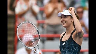 Alizé Cornet vs. Jessica Pegula | US Open 2019 R1 Highlights