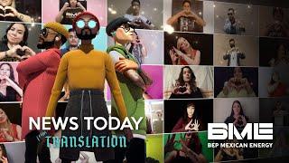 News Today by Black Eyed Peas - BEP Mexican Energy (Español/English Lyrics)