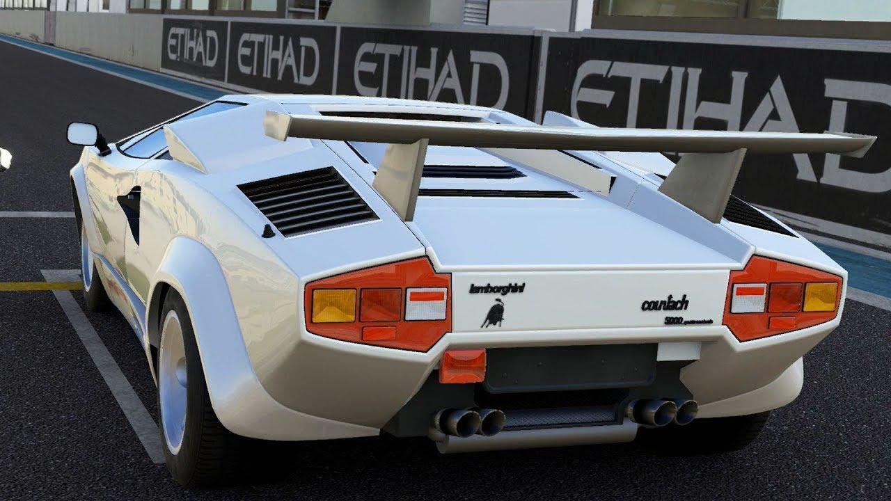 Forza Motorsport 5 Lamborghini Countach Lp5000 Qv 1988 Test