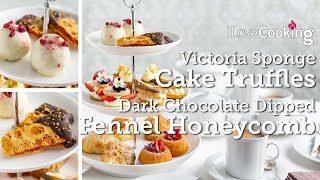Afternoon Tea Sweet Treats with Chef Shane Smith | Victoria Cake Truffles | Fennel Honeycomb