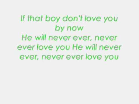 Never Ever Lyrics Ciara
