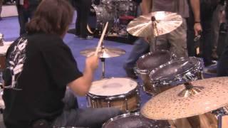 Sick Drummer Magazine - NAMM 2011 - Derek Roddy, Virgil Donati and Jota Morelli on Brady Drums