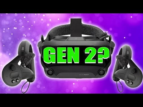 Valve Index VR Headset Is NOT VR 2.0 But It's The FIRST Gen 2