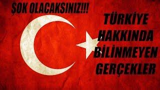 Türkiye Bilinmeyen Gerçekler! Şok Edici Özelliği Vardır!!!
