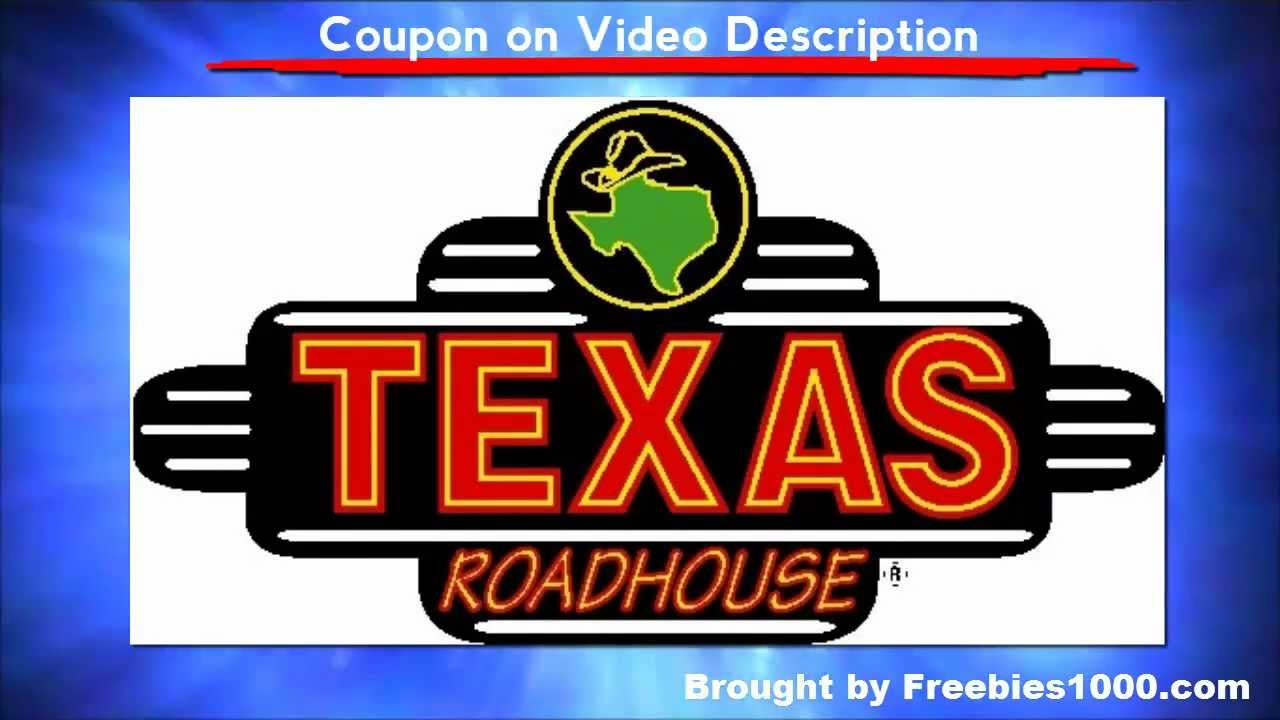 photograph regarding Texas Roadhouse Coupons Printable identified as Texas Roadhouse Discount codes - Printable Texas Roadhouse Discount coupons