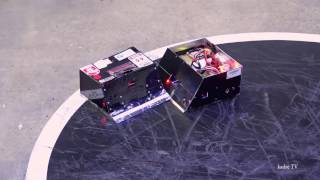 sumo robot 3kg Great Final the winner of the show. 2017 in Lithuania