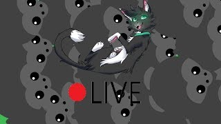 Mope.io LIVESTREAM // LET'S MAKE A GORILLA ARMY // Tag-≽ᑕØ≼ // USA 2 East // Cat Origins