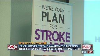 Stroke awareness focuses on acronym