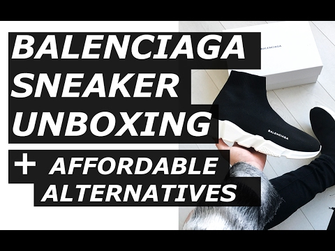 Balenciaga Speed Sneaker Unboxing | High End, Affordable Options, Vetements , Haul | Gallucks