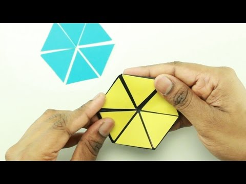 How To Make Color Changing Hexaflexagon