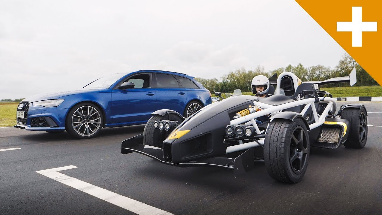 Fun to watch Still love the RS6 and still very impressive machine - Audi RS6 vs Ariel Atom Drag Race - Carfection +
