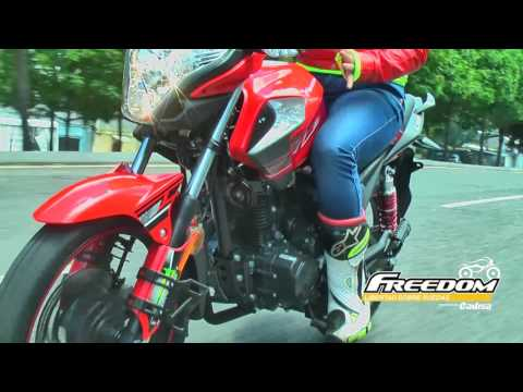 Test Drive CR1 150 cc