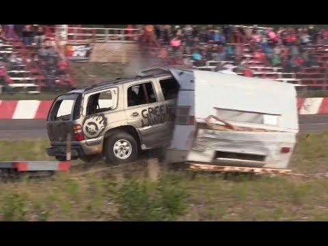Thunder Valley Speedway - Camper Crash