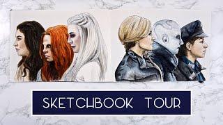 Watercolour Sketchbook Tour