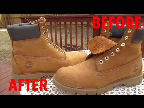DIY: How to clean Timberland boots!