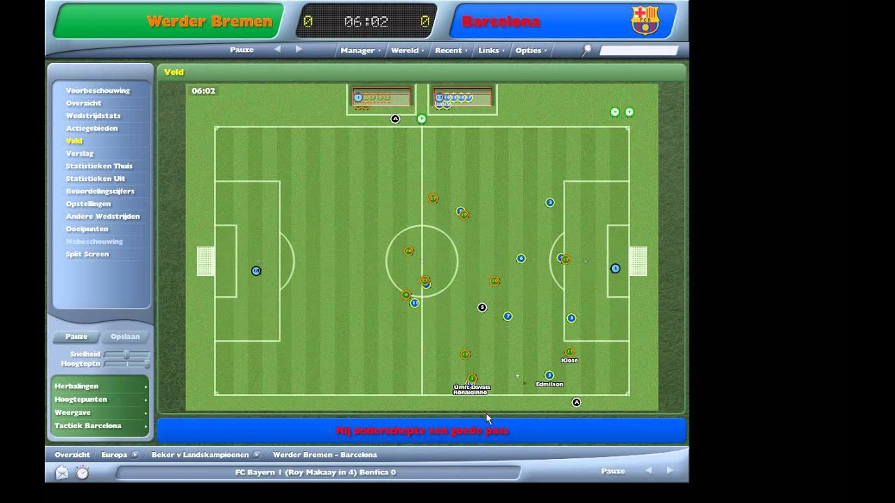 Match Engine Football Manager 2006