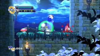 BETA FOOTAGE - Sylטania Castle Act 3 - Sonic the Hedgehog 4: Episode 2