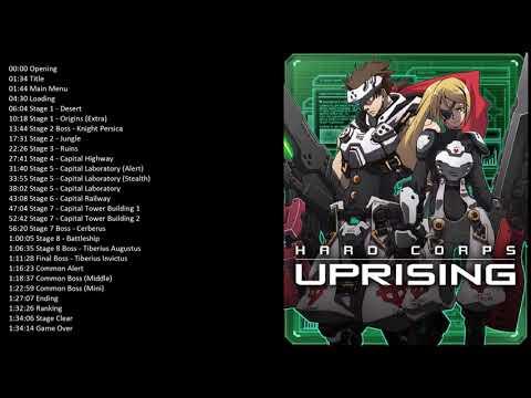 Hard Corps: Uprising Full OST