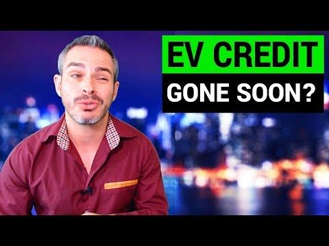 EV Tax Credit May Be Gone Soon!