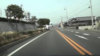 国道196号の旧道 愛媛県松山市→旧北条市