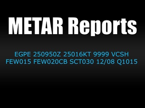 METAR Weather Reports
