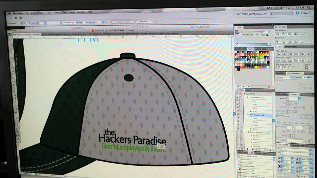 THP Custom Pukka Hat Designed - YouTube 676b58b745c