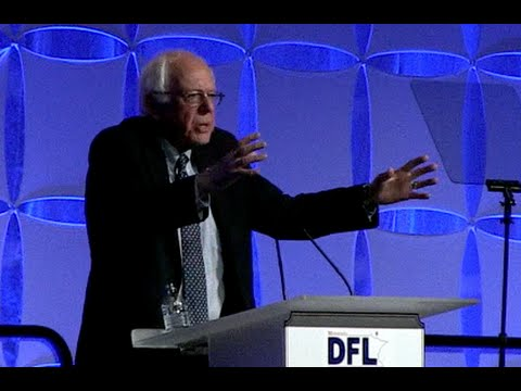Bernie Sanders Addresses MN Democrats - Full Speech At Humphrey Mondale Dinner