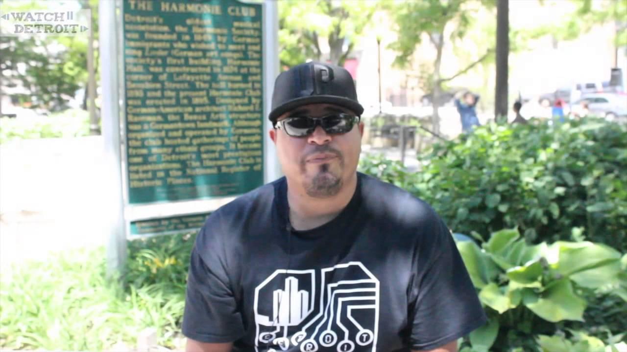 DJ Roach, organizer of TEC TROIT Electronic Music Festival