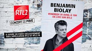 Benjamin Biolay en Concert Très Très Privé RTL2