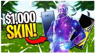 Practicing Android Fortnite For the NEW $1,000 SKIN! - (Samsung Galaxy S8+ Fortnite)