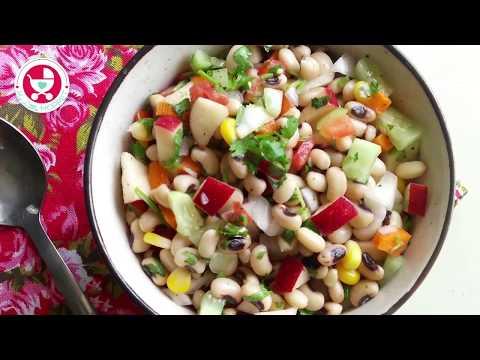 Black Eyed Beans Salad