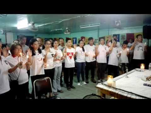 OATH TAKING NG GUADALUPE PRAYER GROUP