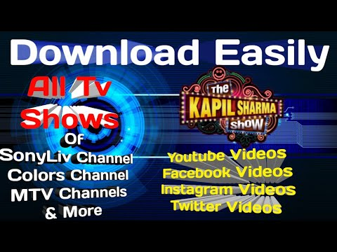 How to Download TV Shows ,Videos or Facebook, Instagram, Twitter and YouTube Videos in Android.