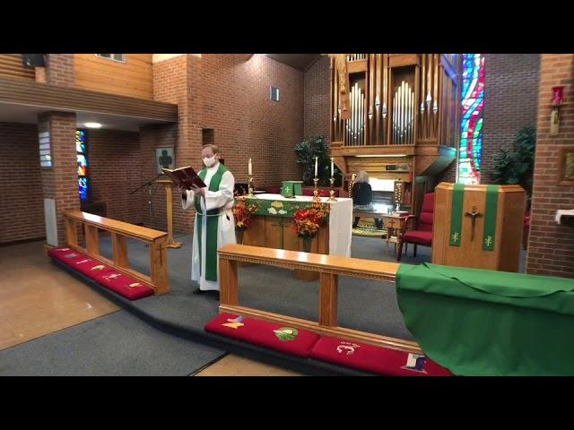 21 Pentecost - Vote Faithfully Sunday - Holy Eucharist - Rite II - 10/25/20