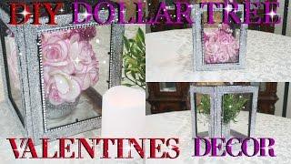 DIY DOLLAR TREE VALENTINES DAY GLITTER LANTERN DECOR 2017 | PETALISBLESS🌹