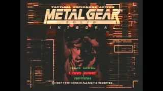 SPEED RUN METAL GEAR SOLID cd1 hard completo 6m12s  ps1  -GAME SHARK-