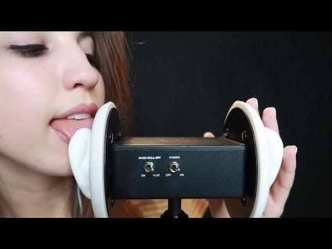 ASMR Ear Licking ~