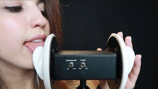 ASMR Ear Licking ~