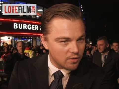 Leonardo DiCaprio And Ridley Scott At Body Of Lies Premiere