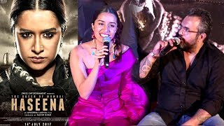 Haseena Parkar Movie Trailer Launch Full Video HD - Shraddha Kapoor,Siddhanth Kapoor,Apoorva Lakhia