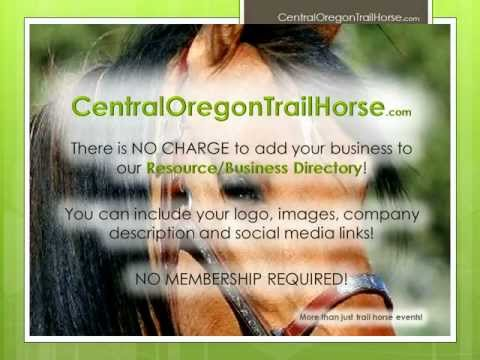 CentralOregonTrailHorse.com - More than just trail horse events!