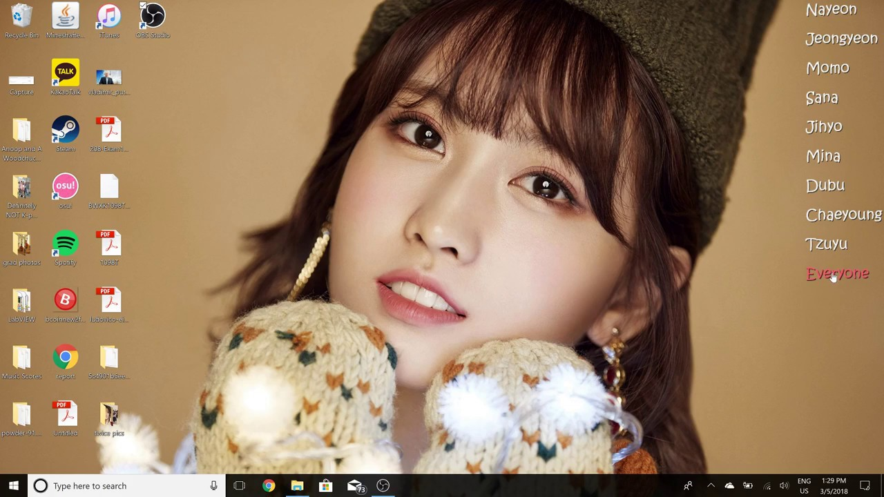 How To Make A Changing Bias Wallpaper Twice Edition Youtube