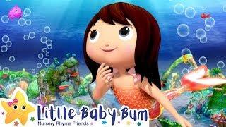 The Little Mermaid | Kids Songs | Fairy Tales For Kids | Moonbug TV After School