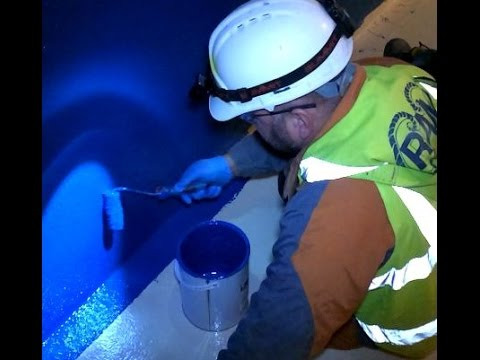 A drinking water tank at Lostock water treatment works is set for a brighter future.из YouTube · Длительность: 1 мин59 с