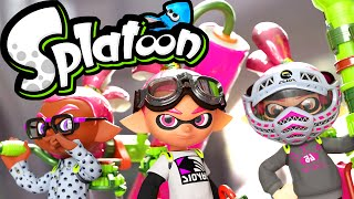 Splatoon Wii U Gameplay LIVE! Squid Squad Battles Ranked & Turf Wars 2.2.0 Stream Online HD 60fps