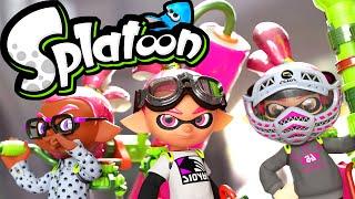 Splatoon Wii U Gameplay LIVE! Squid Squad Battles Ranked & Turf Wars 2.2.0 Stream Online HD 60fps