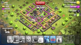 Clash of Clans 550k+ Attack And Commentary (Level 7 Townhall Gameplay)