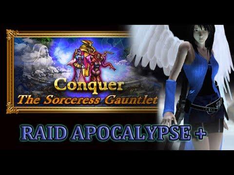 [FFRK] Raid Solo | FFVIII The Sorceresses (Apocalypse +) #807